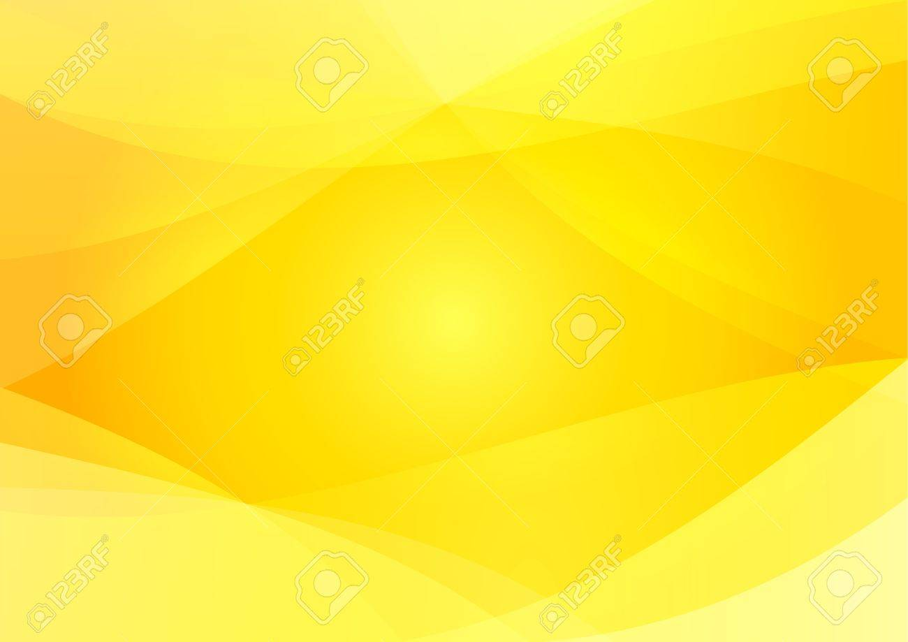 Abstract Yellow And Orange Background Wallpaper