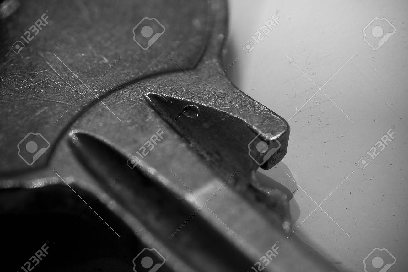 Macro Key Stock Photo, Picture And Royalty Free Image. Pic 4178505.