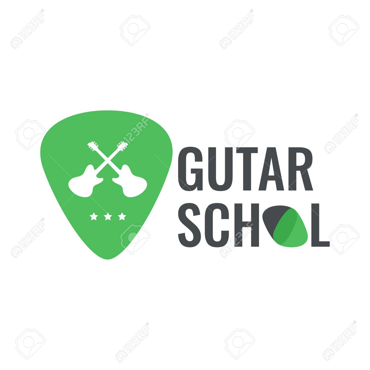 Vector Logo Best For Musical Instruments Shop, Music Blog. Ready.. Royalty  Free Cliparts, Vectors, And Stock Illustration. Image 89832224.