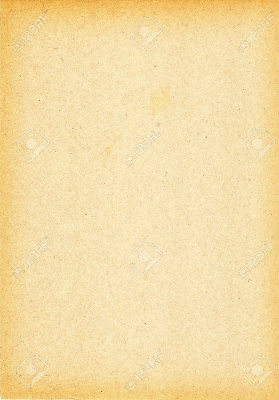 Old grungy brown paper with darker edges Stock Photo - 8779141