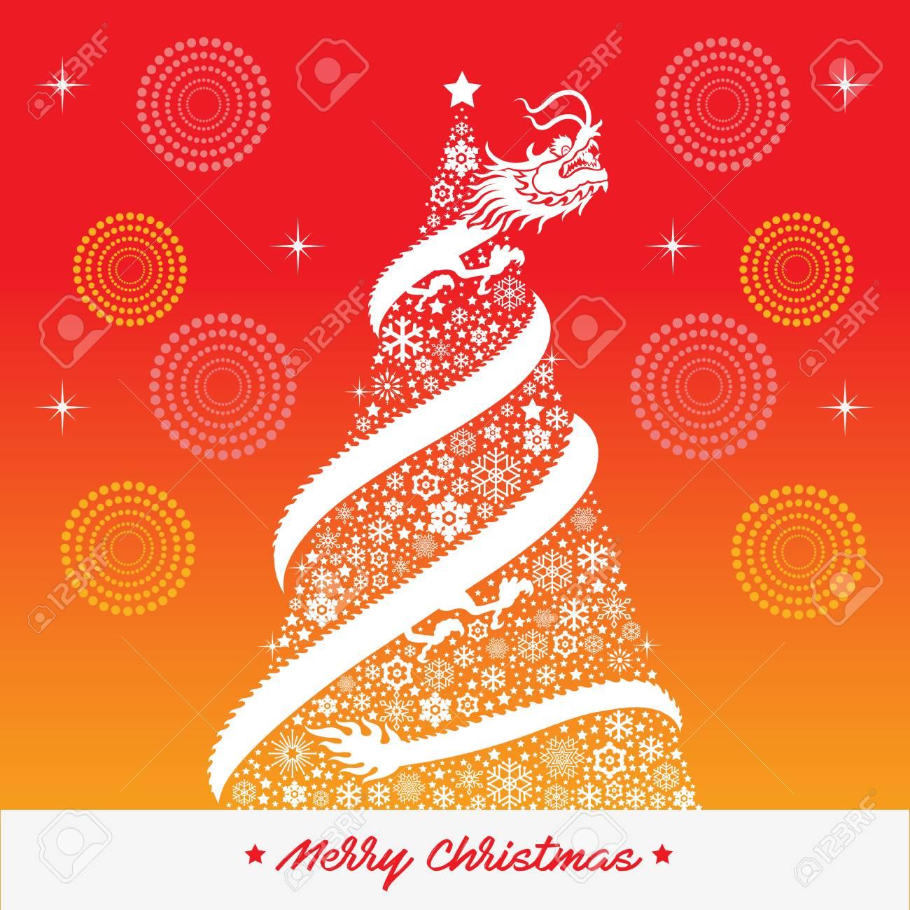 Chinese Christmas.Chinese Christmas Background