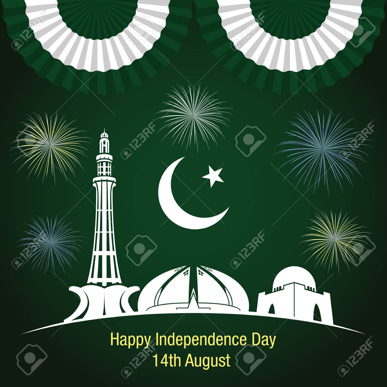 Happy Independence Banners World Literature Banners