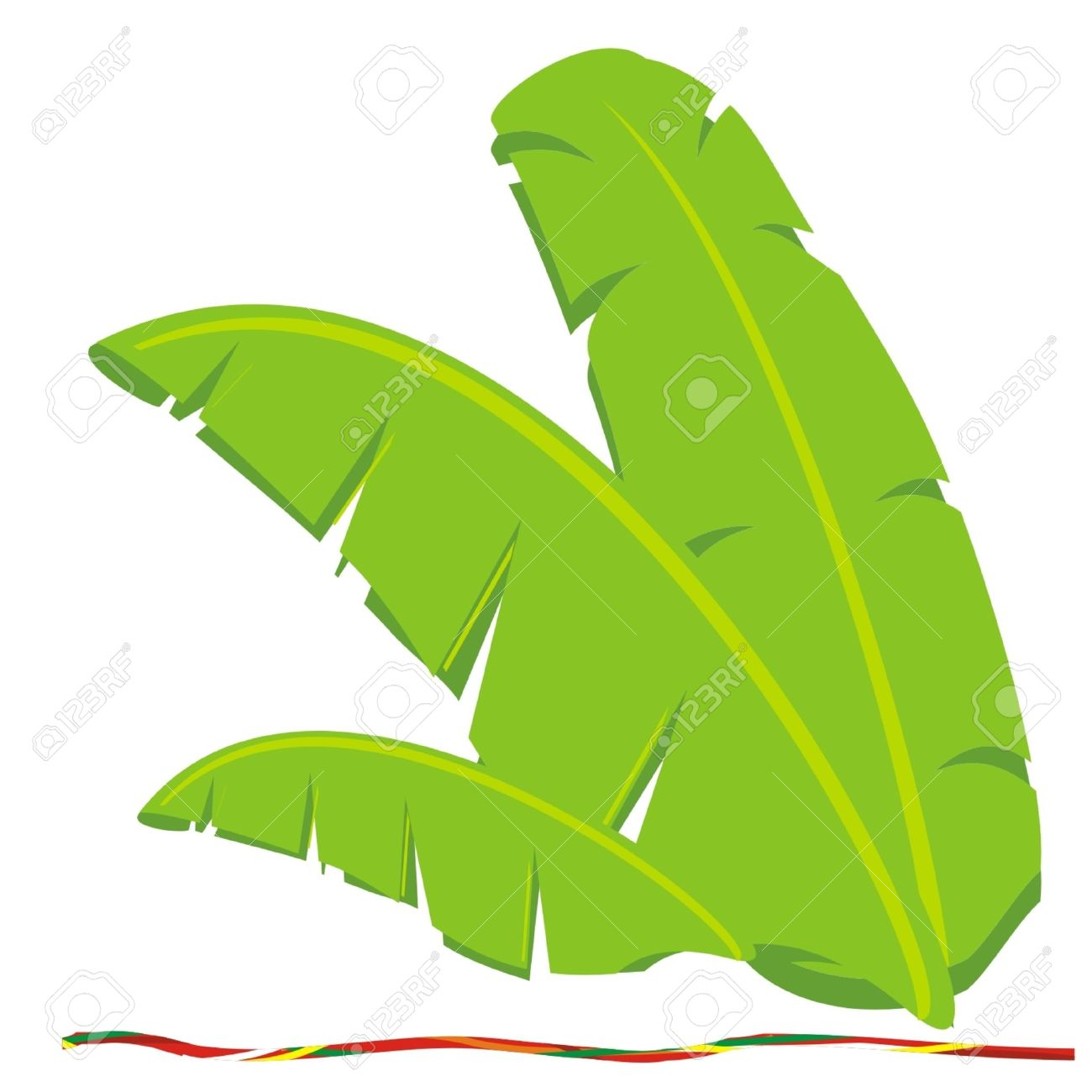 14663 Banana Leaf Stock Illustrations Cliparts And Royalty Free