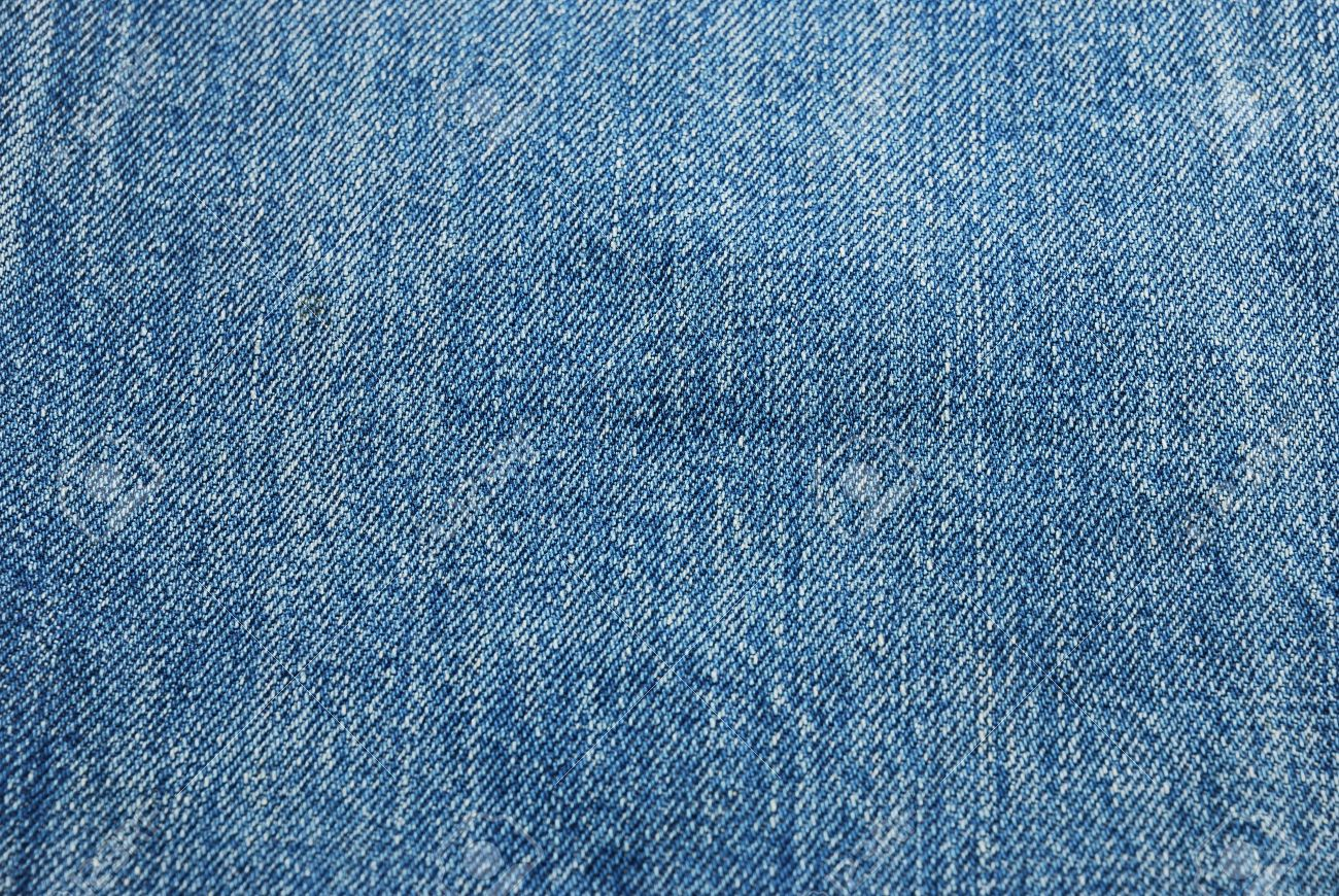 The Fabric Surface Of Jeans Texture In Blue Color Stock Photo ...