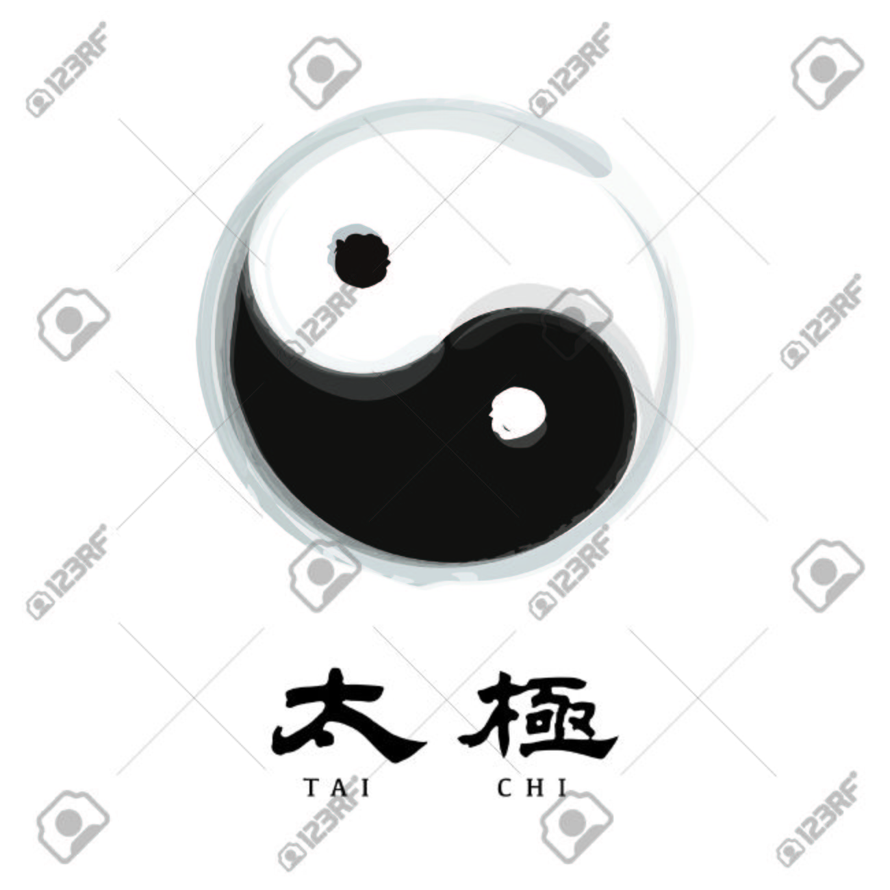 1428 Tai Chi Stock Vector Illustration And Royalty Free Tai Chi Clipart