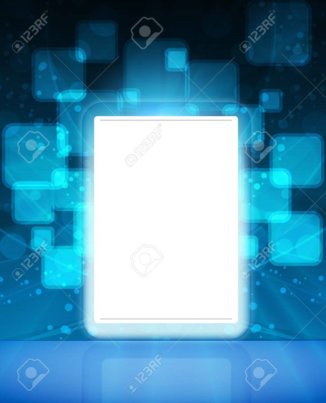 Touch pad or Tablet PC Stock Vector - 9447605