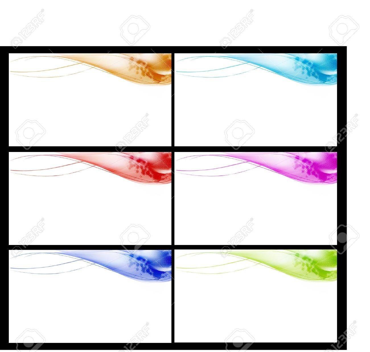 smooth banners or web site headers Stock Vector - 9474364