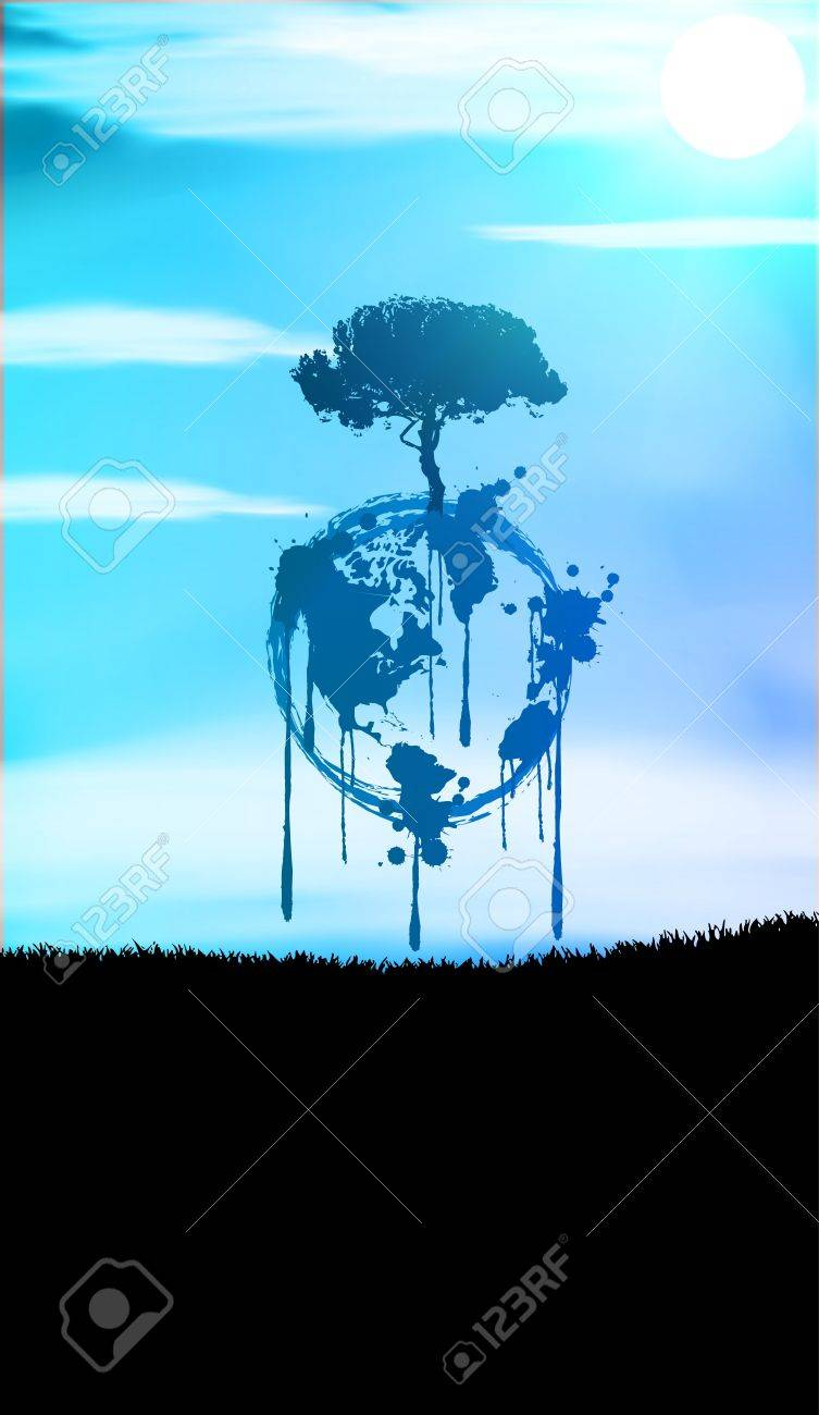 Welt Stock Vector - 9628101