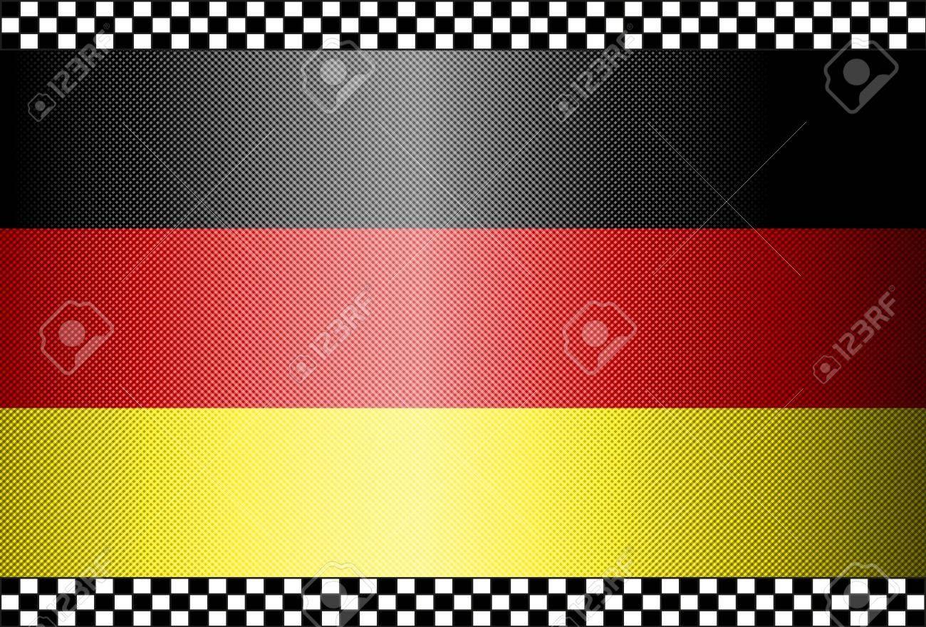 Carbon Fiber Black Background Texture - Germany Stock Vector - 13331067