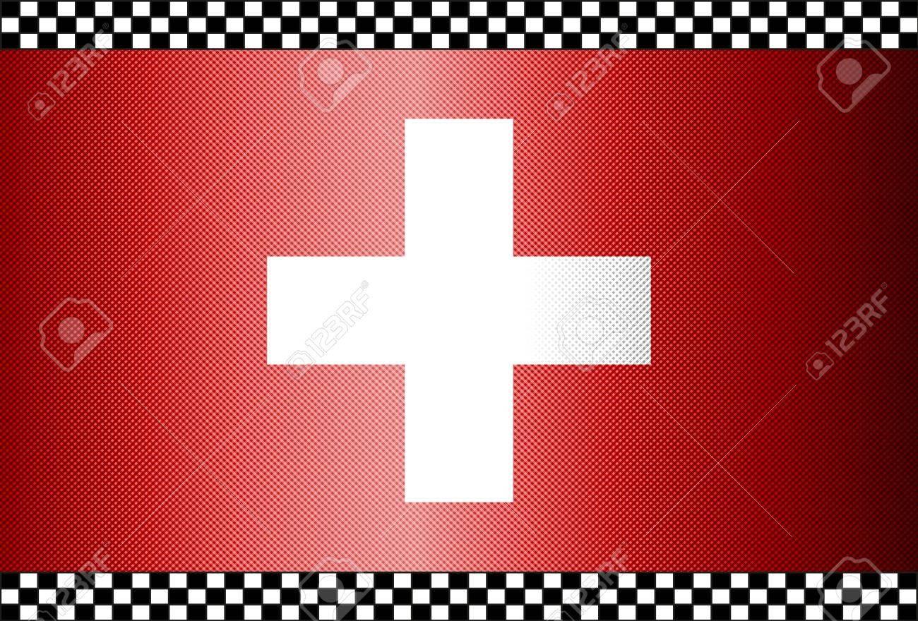Carbon Fiber Black Background Texture - Switzerland Stock Vector - 13331075