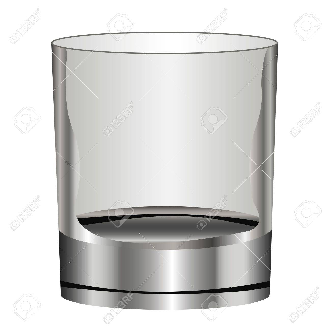 glass a wine glass for alcoholic beverage on a white background Stock Vector - 19088111