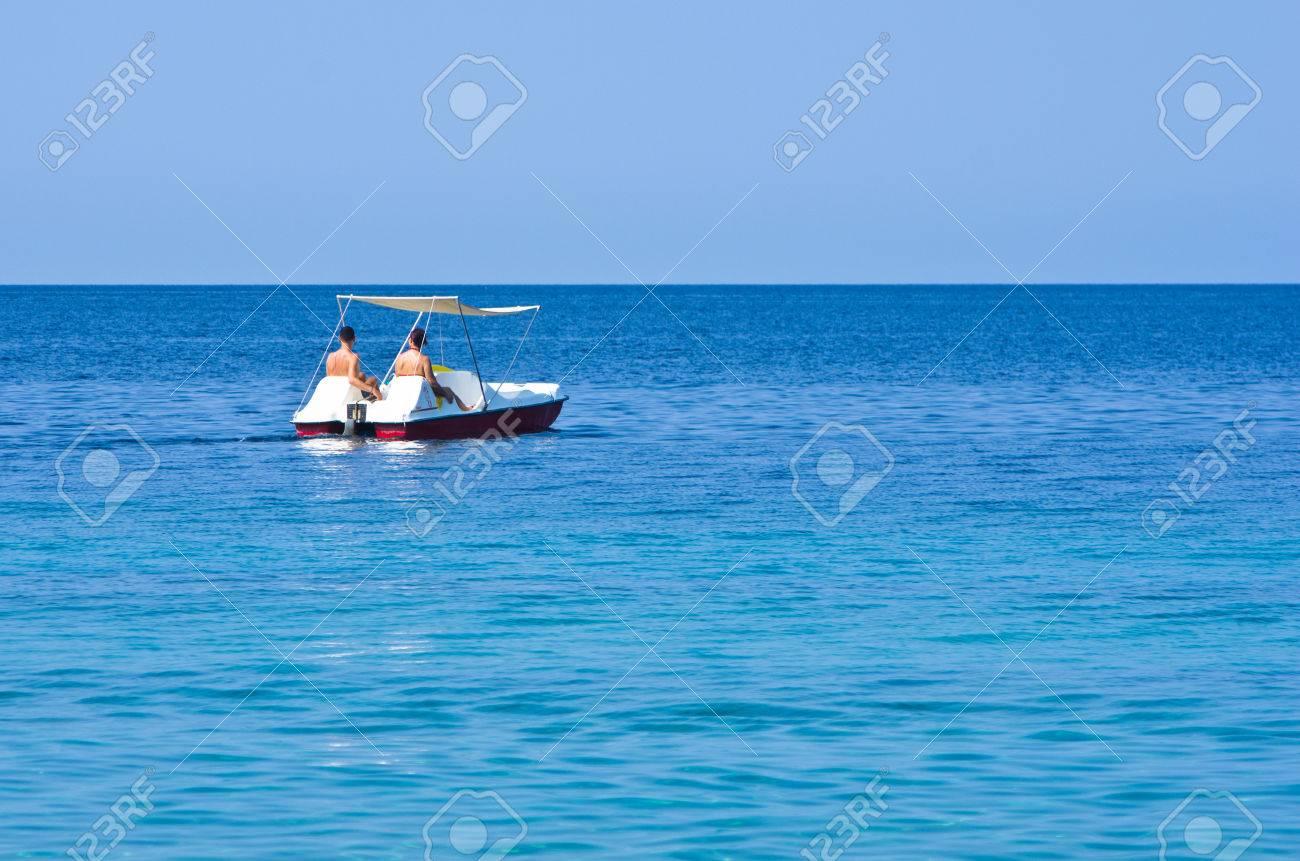 quelque part sur un bateau