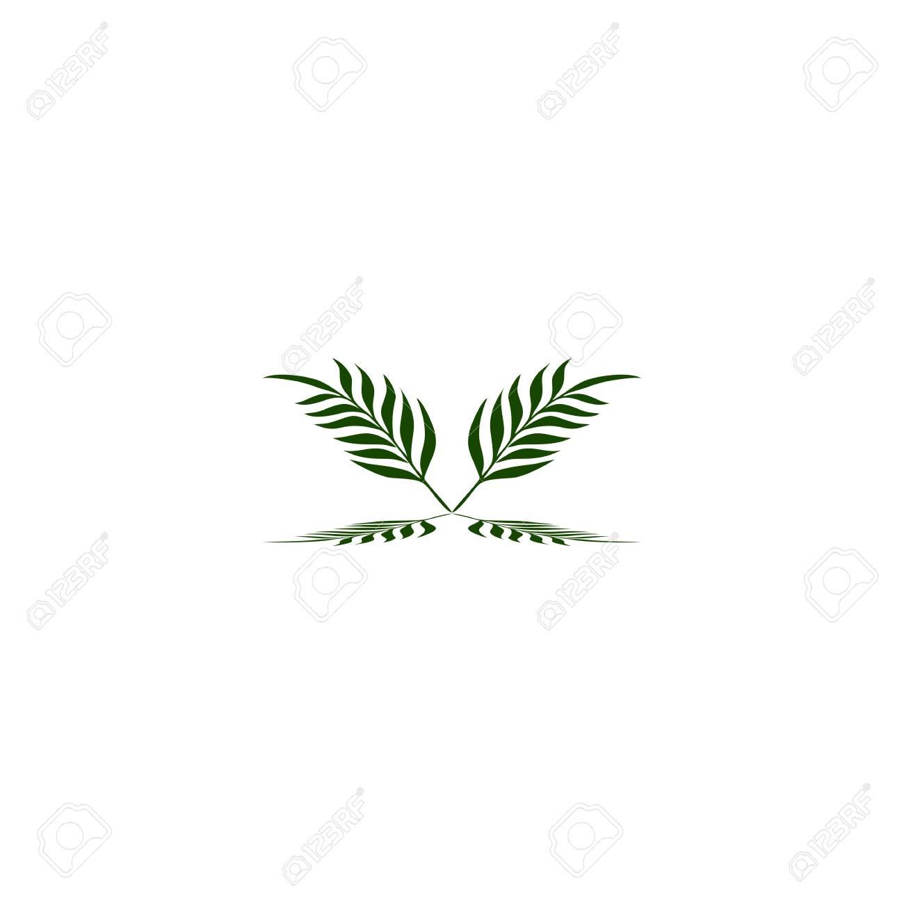 green leaf logo symbol of fertility