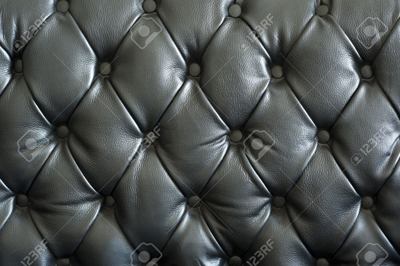Black leather chair texture - Stock Photo Vintage Chair Texture Background