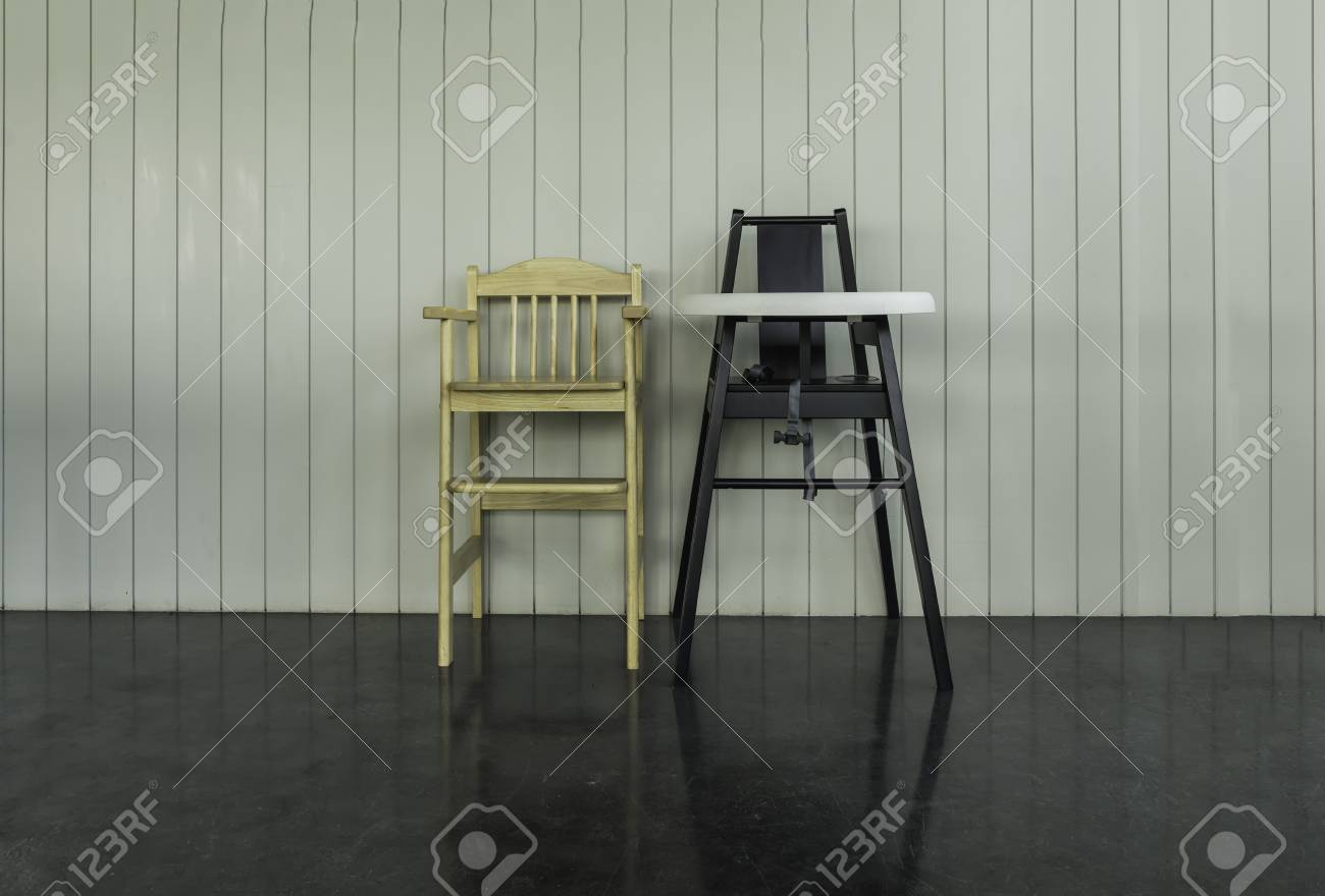 f1034640c Spare Child And Baby Chair At Restaurant - Can Use To Display ...