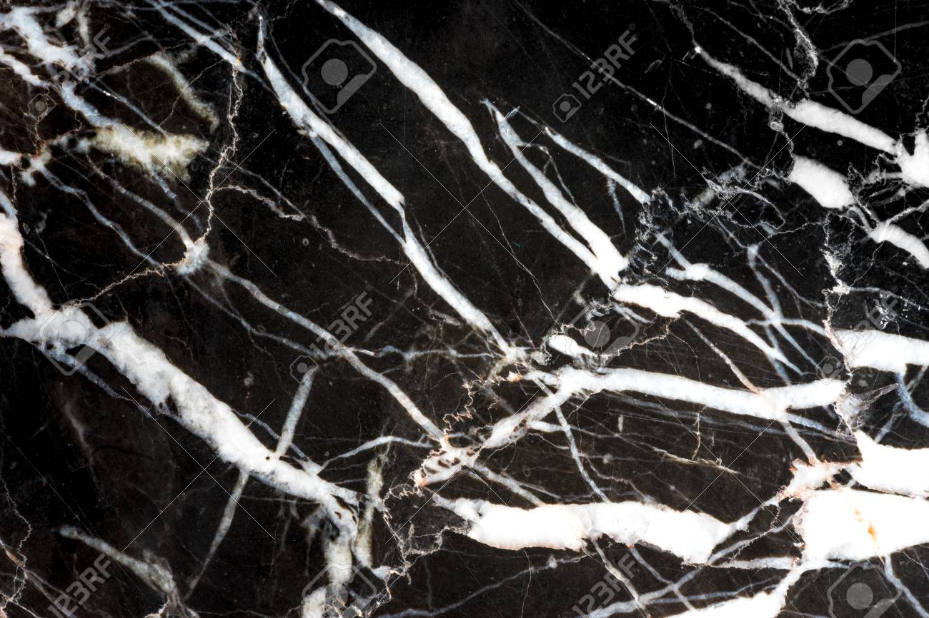 Black White And Copper Line Marble Texture Background And Interior
