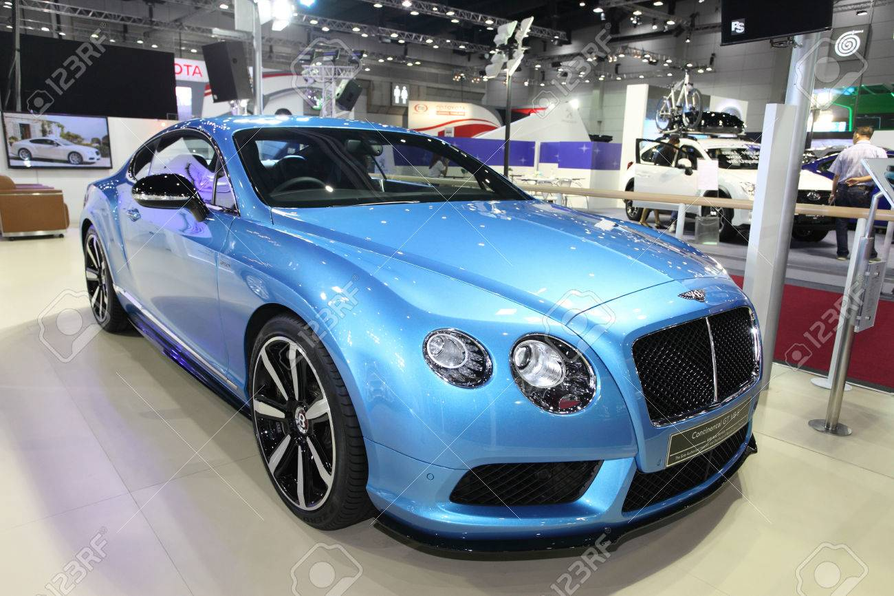 BANGKOK - August 19: Bentley Continental GT V8 S Car On Display ...