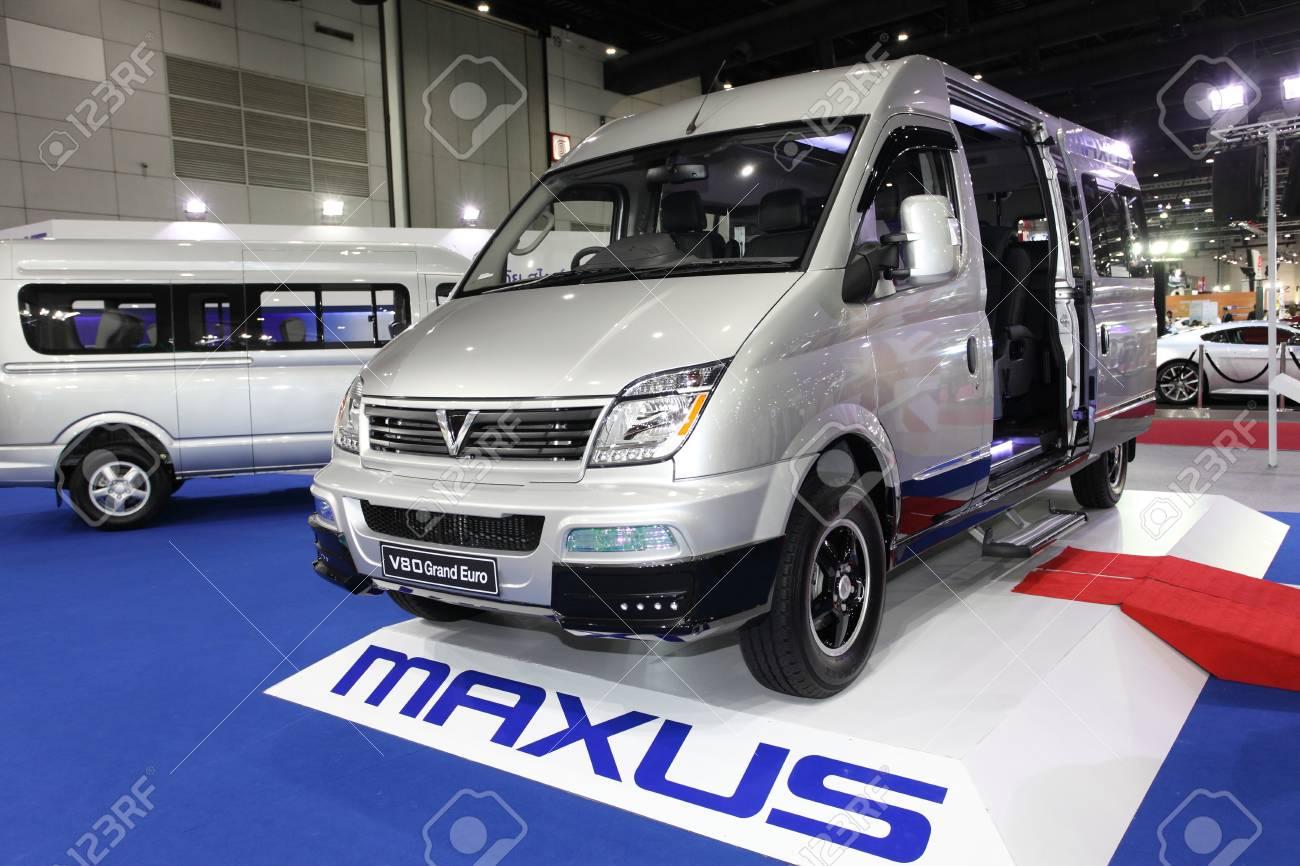 Bangkok August 19 Maxus V80 Grand Euro Car On Display At Big
