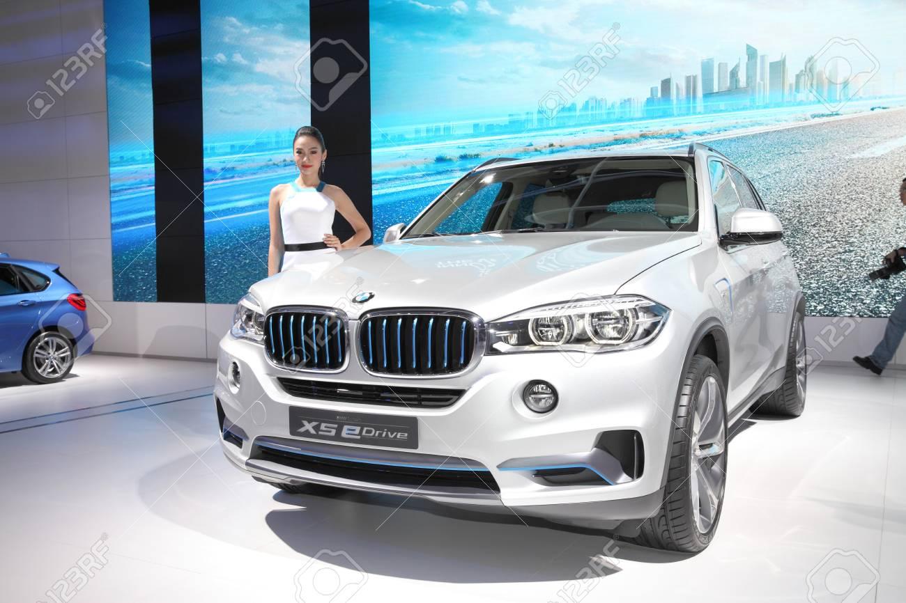 Bmw X5 Edrive >> Bangkok March 24 Bmw X5 Edrive Car With Unidentified Model