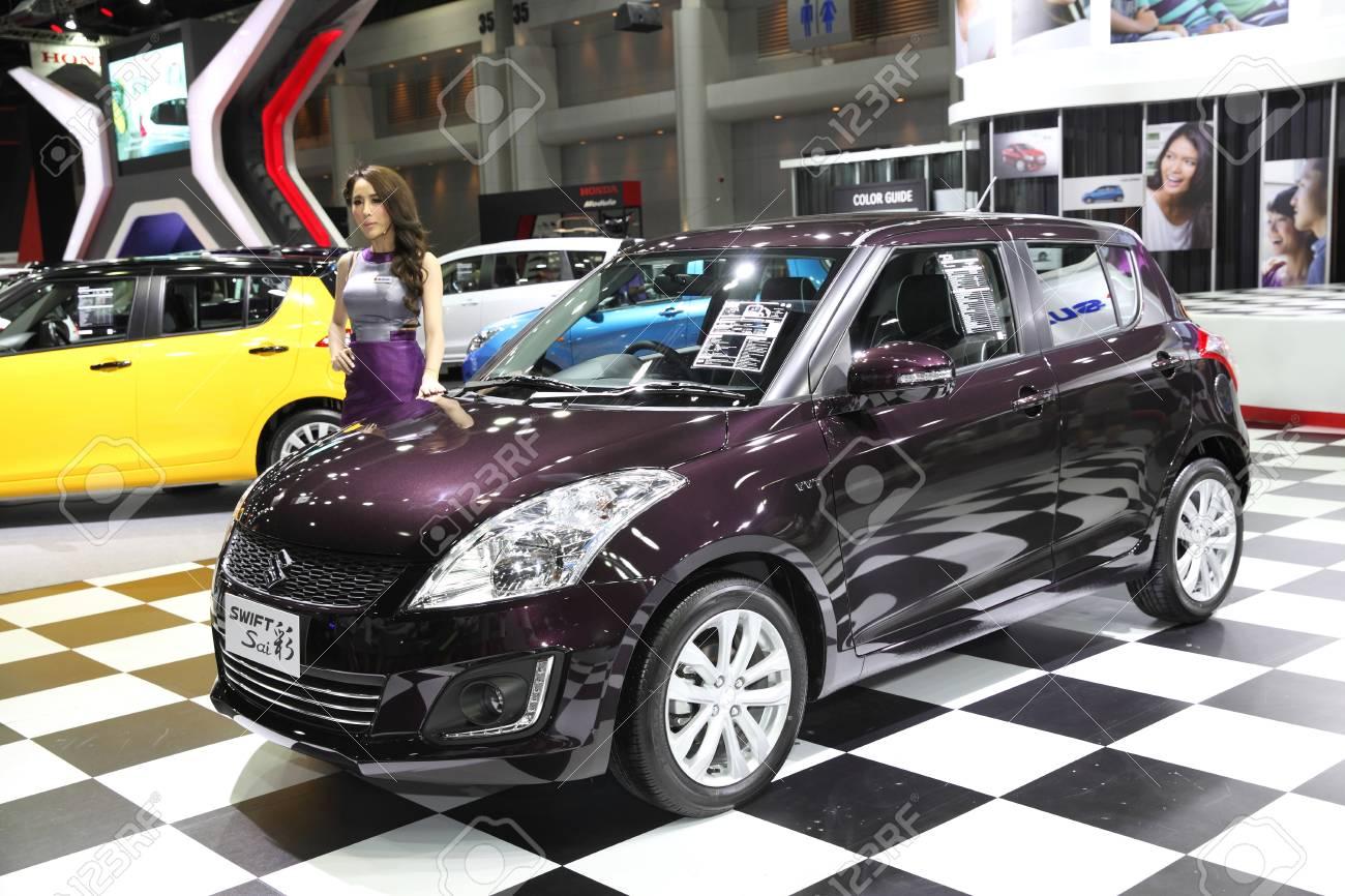 BANGKOK - June 24: Suzuki Swift car with Unidentified model car