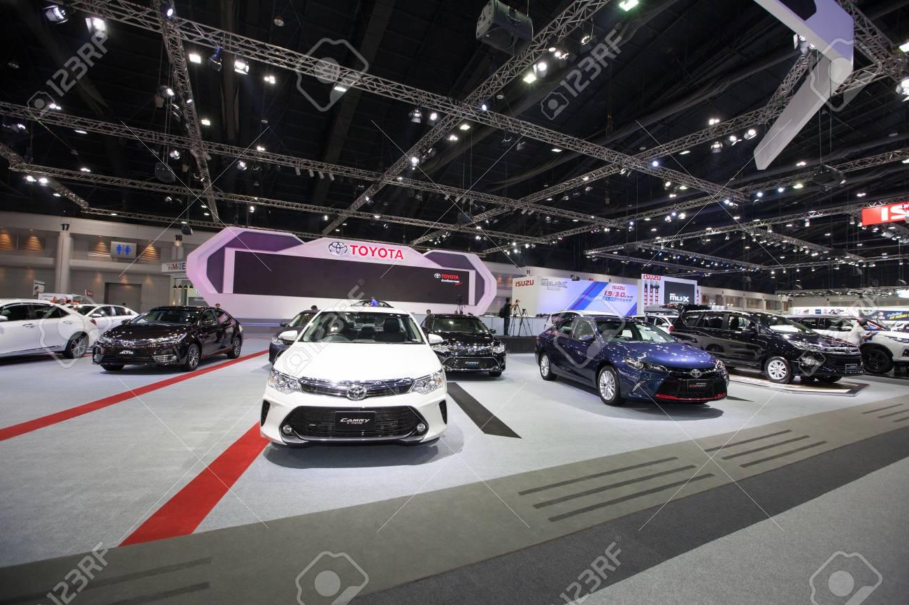 Bangkok November 30 Toyota Yaris Trd Sportivo Car On Display Stock Photo Picture And Royalty Free Image Image 68081550