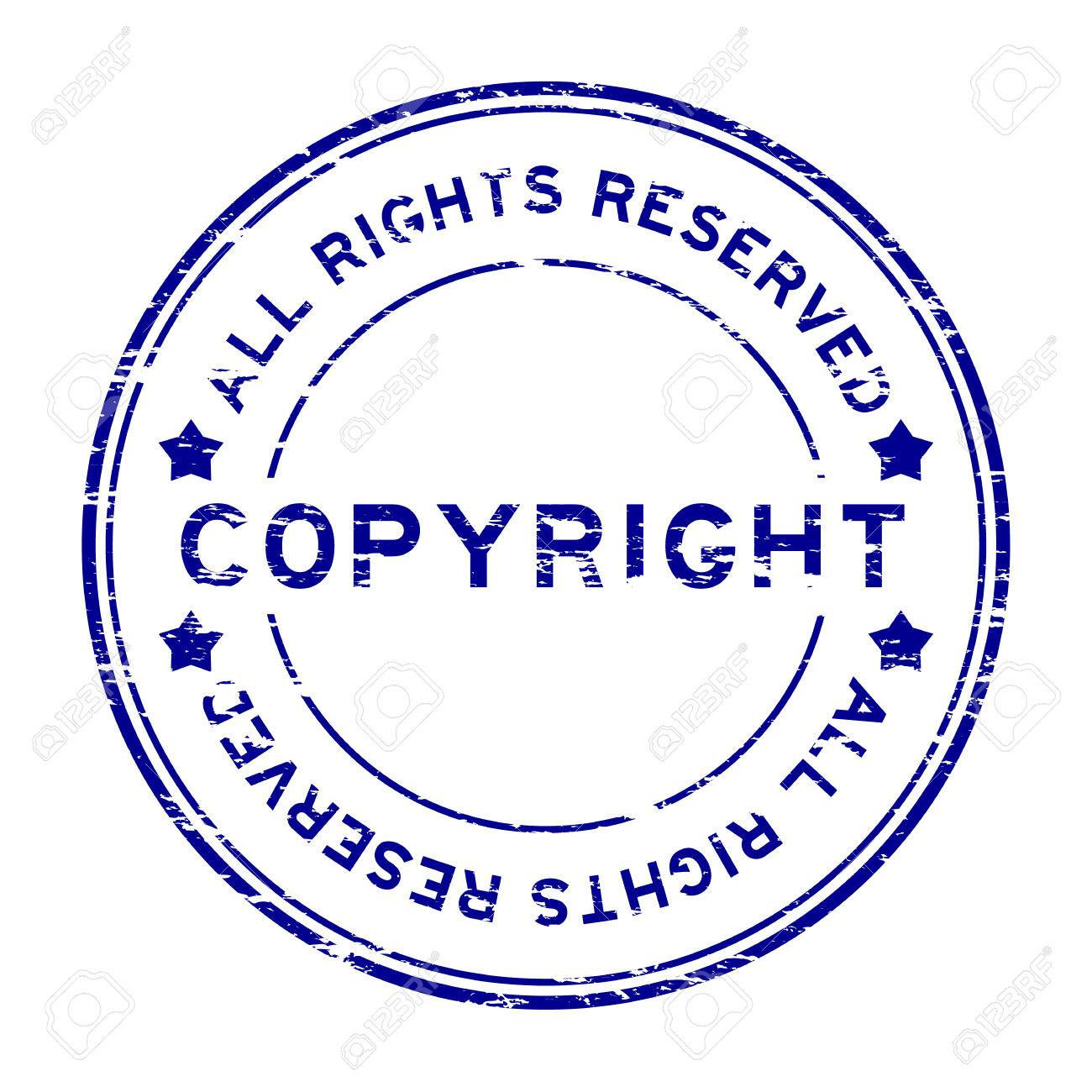 Grunge blue copyright all rights reserved rubber stamp royalty grunge blue copyright all rights reserved rubber stamp stock vector 60300777 biocorpaavc
