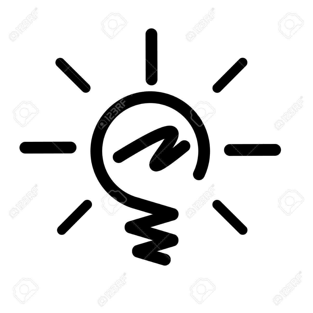 Fein Glühbirne Symbol Bilder - Die Besten Elektrischen Schaltplan ...