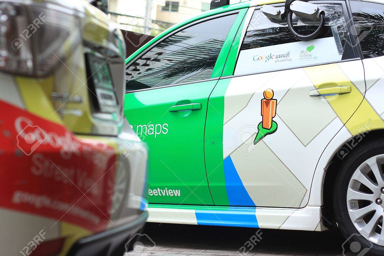 Bangkokthailand july 16 a google maps car on view in central bangkokthailand july 16 a google maps car on view in central bangkok gumiabroncs Image collections