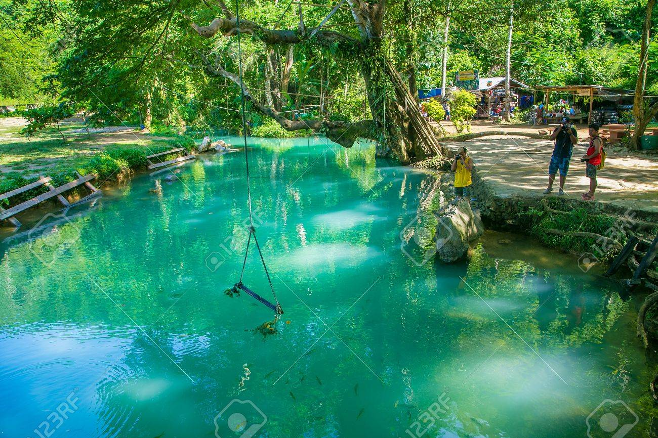 Blue Lagoon In Vang Vieng Laos Stock Photo Picture And Royalty Free Image Image 43513059