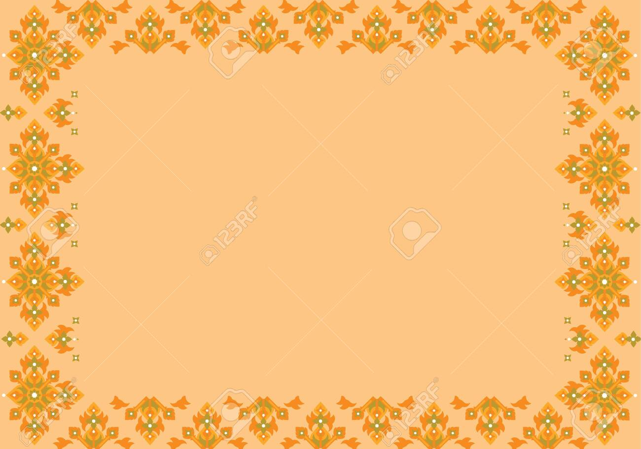 Thai basic ornament can be apply for tattoo ,pattern or background Stock Vector - 15770655