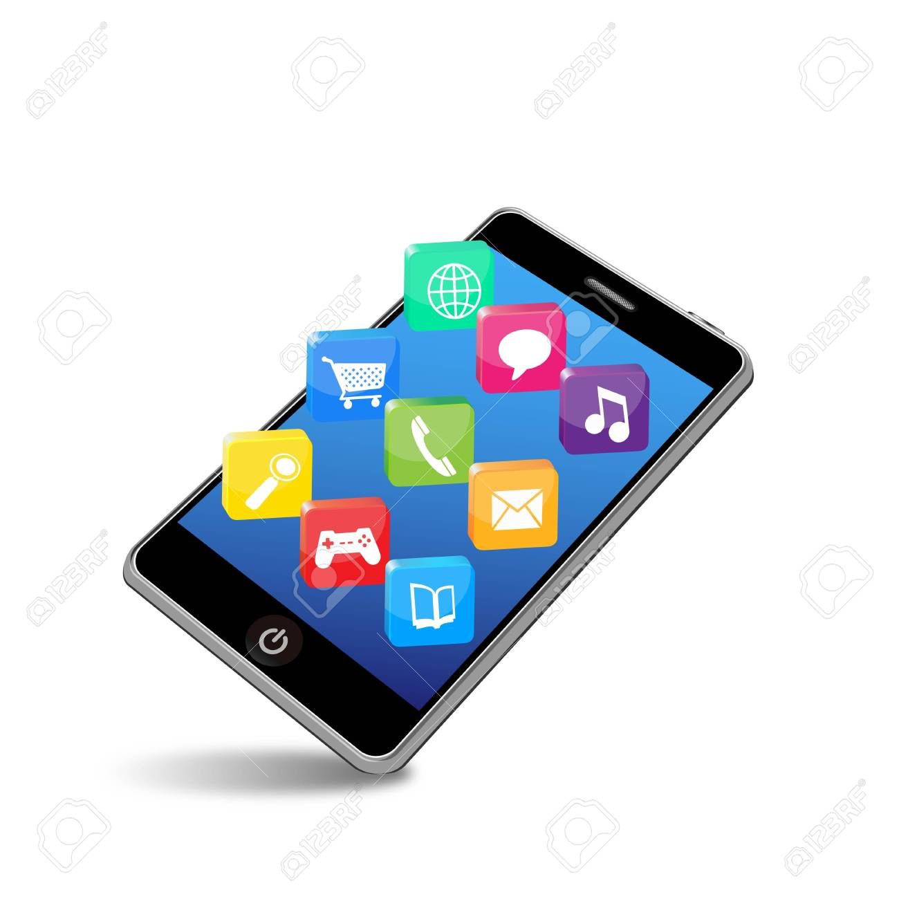 smart phone applications Stock Vector - 11654813