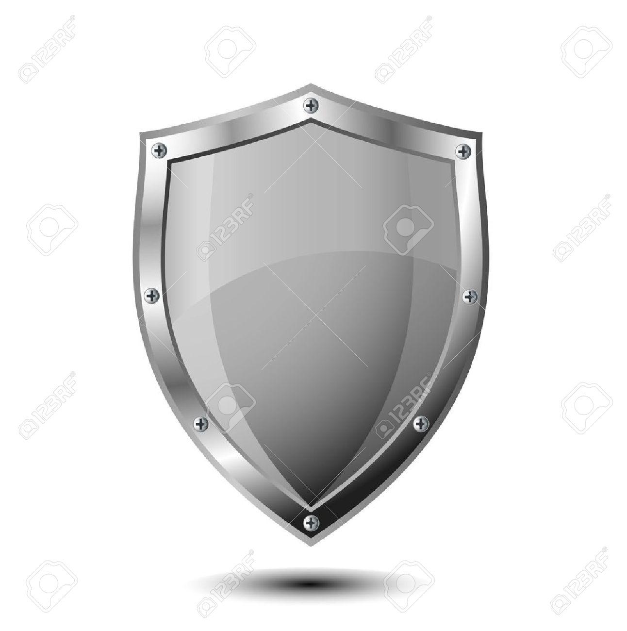保護のための盾の図 ロイヤリテ...