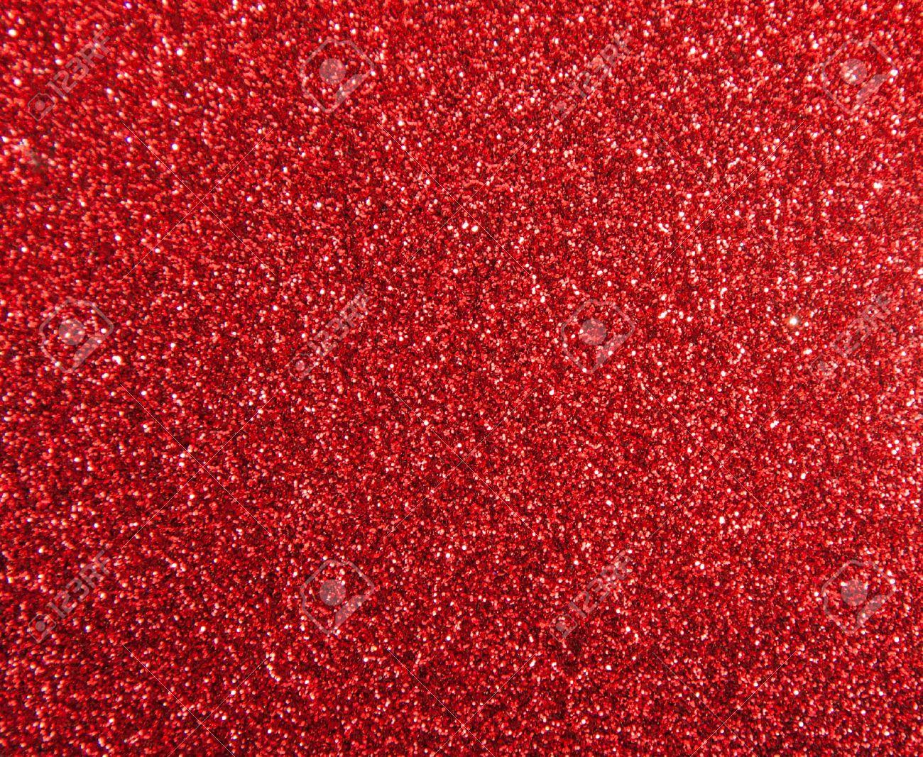 Immagini Stock Una Grossa Quantità Di Polvere Di Diamante Rosso
