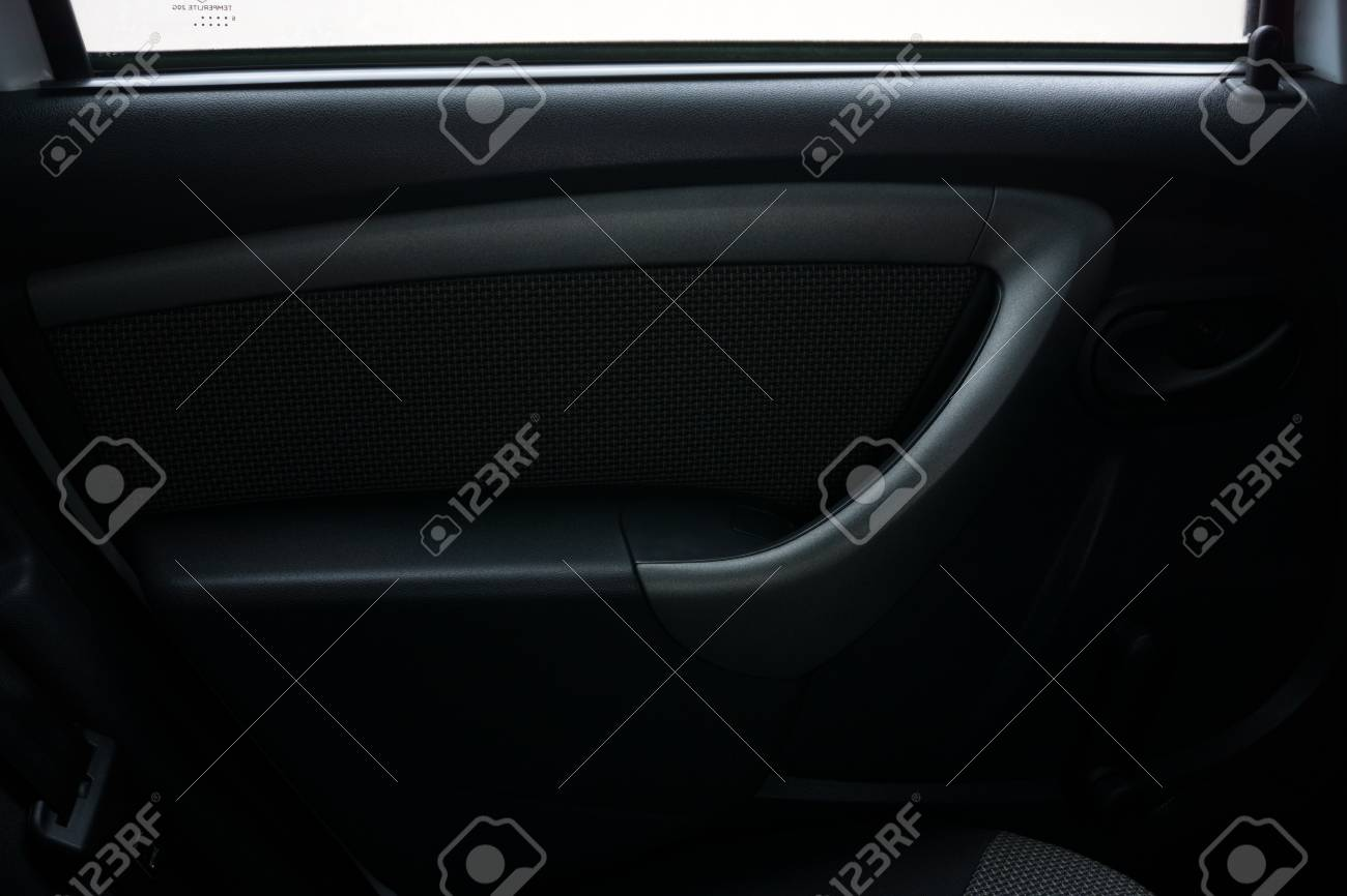 Car Interior Door Panel Stock Photo Picture And Royalty Free Image