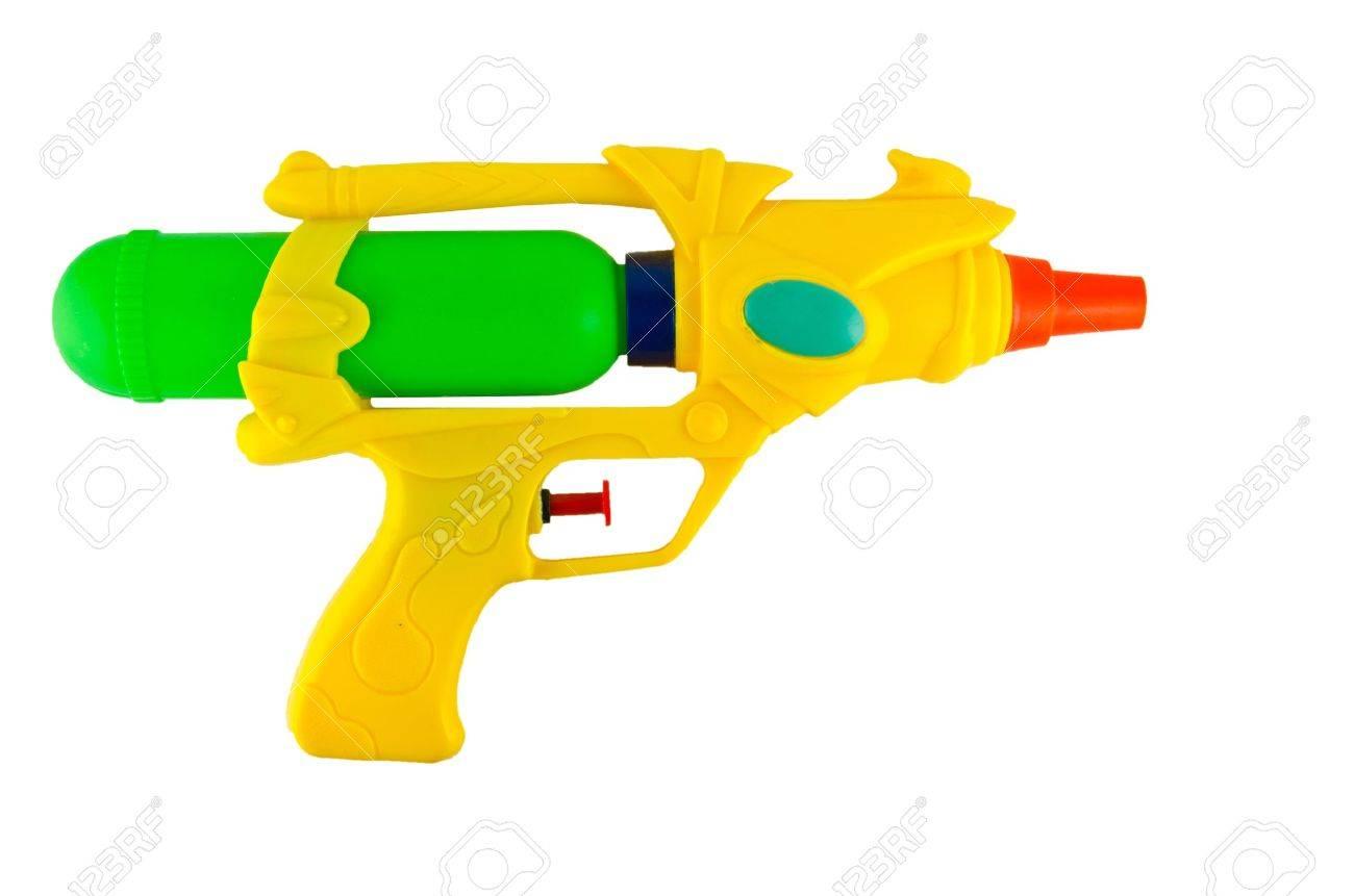 wasser-spritzpistole zum spielen und bewässerung zueinander in