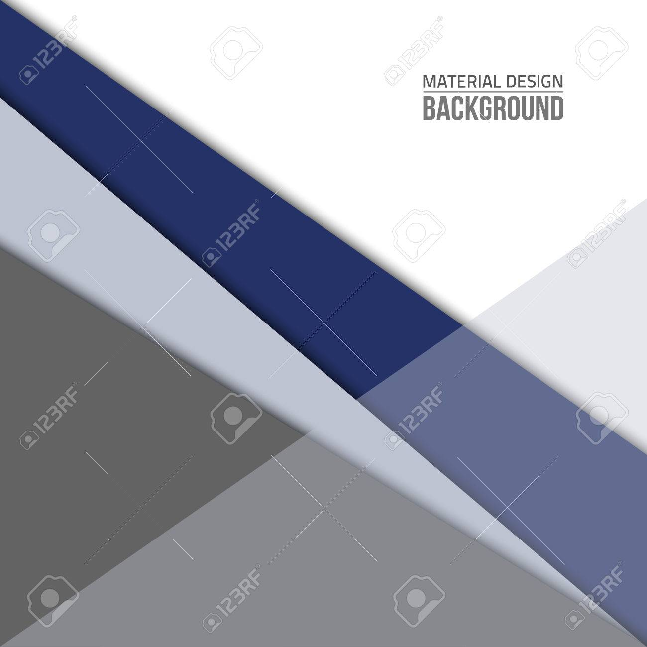 Gray Material Design Background Flat Template Fashion Background