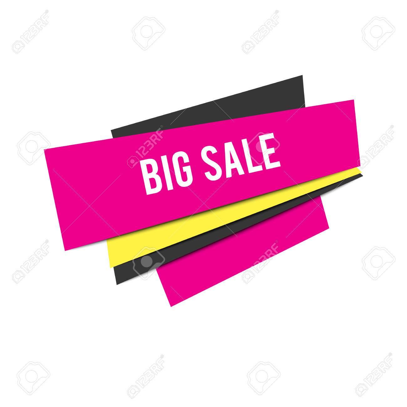 e500ccb0e Vector diseño de fondo. Diseño plano Fondo abstracto venta rosa. Fondo de  compras. Etiqueta de venta de negocio de market de moda.