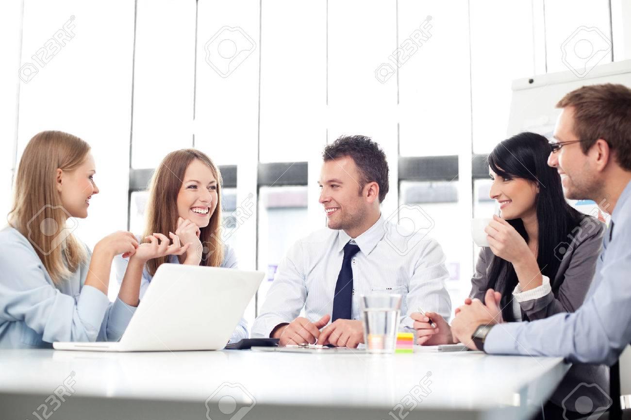 Business people meeting. Standard-Bild - 53952964