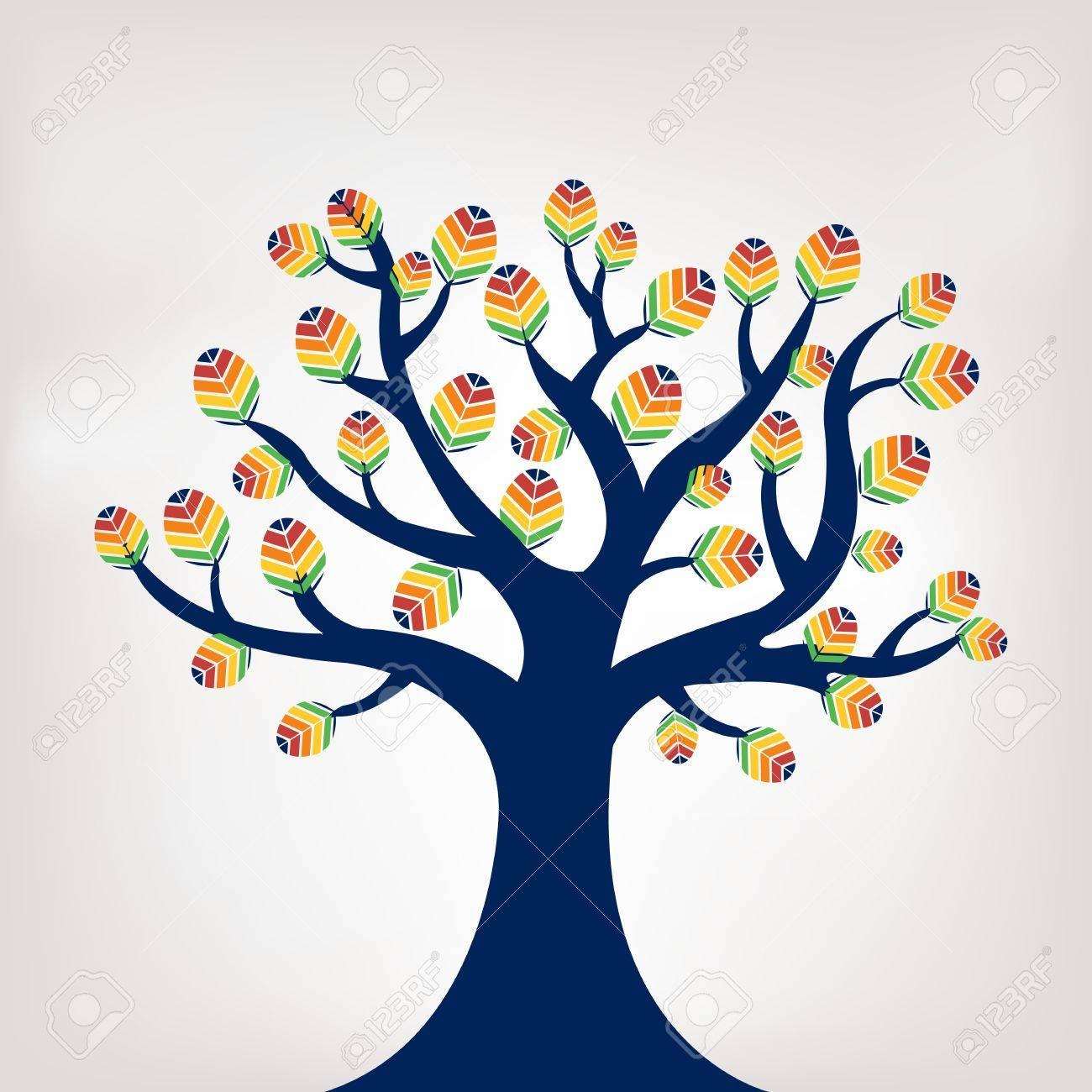 Abstract Tree, Vector Illustration Stock Vector - 9194651