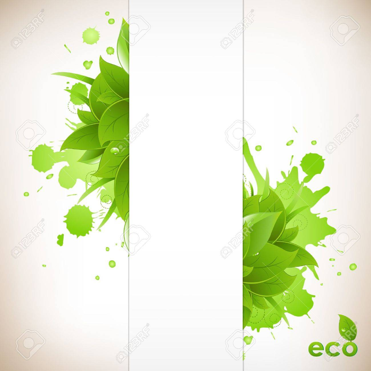 Design Eco Friendly Stock Vector - 9660892
