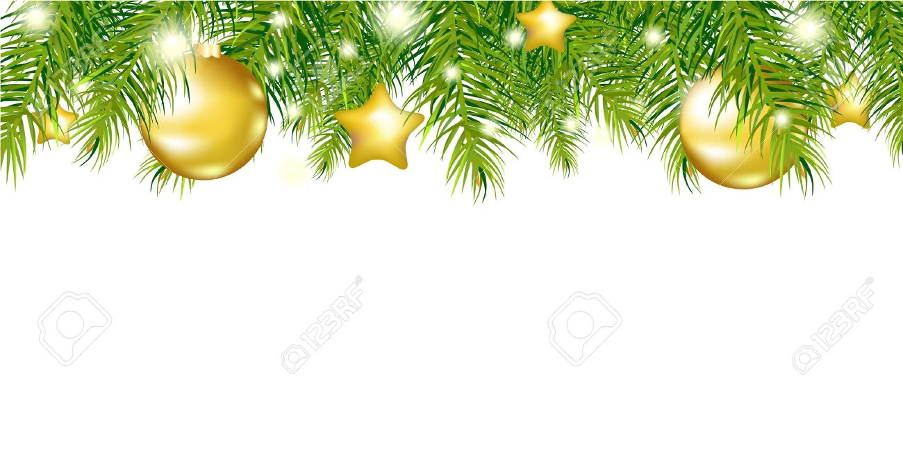 green new year garland isolated on white background vector illustration stock vector 11271566