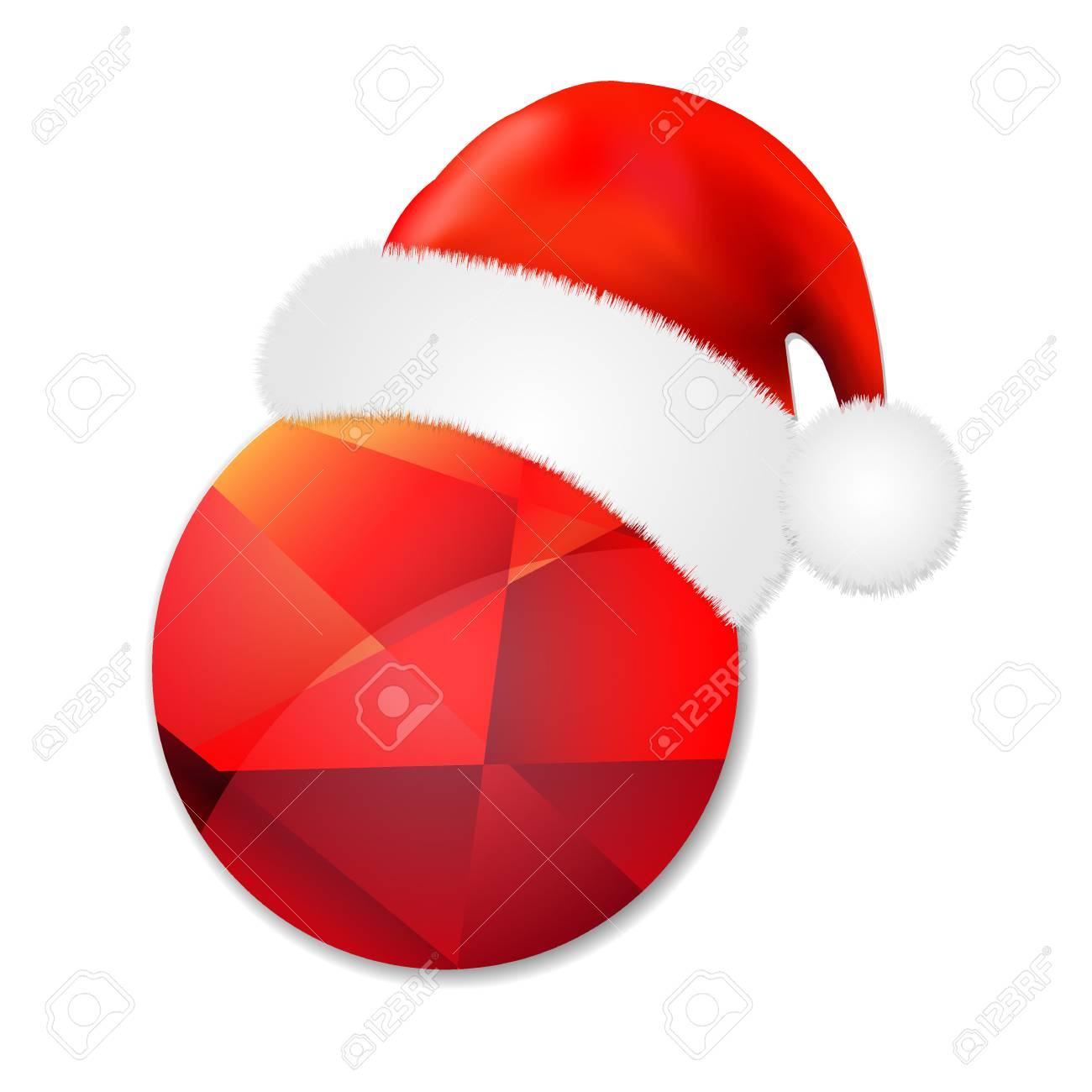 Cartel De Venta Con Gorra De Santa Claus e9c83915b38