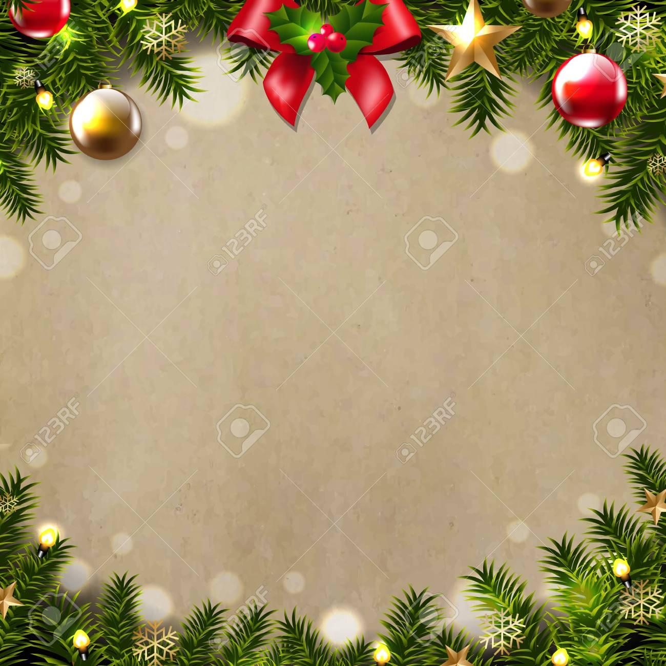 Christmas Border Design.Christmas Border Design