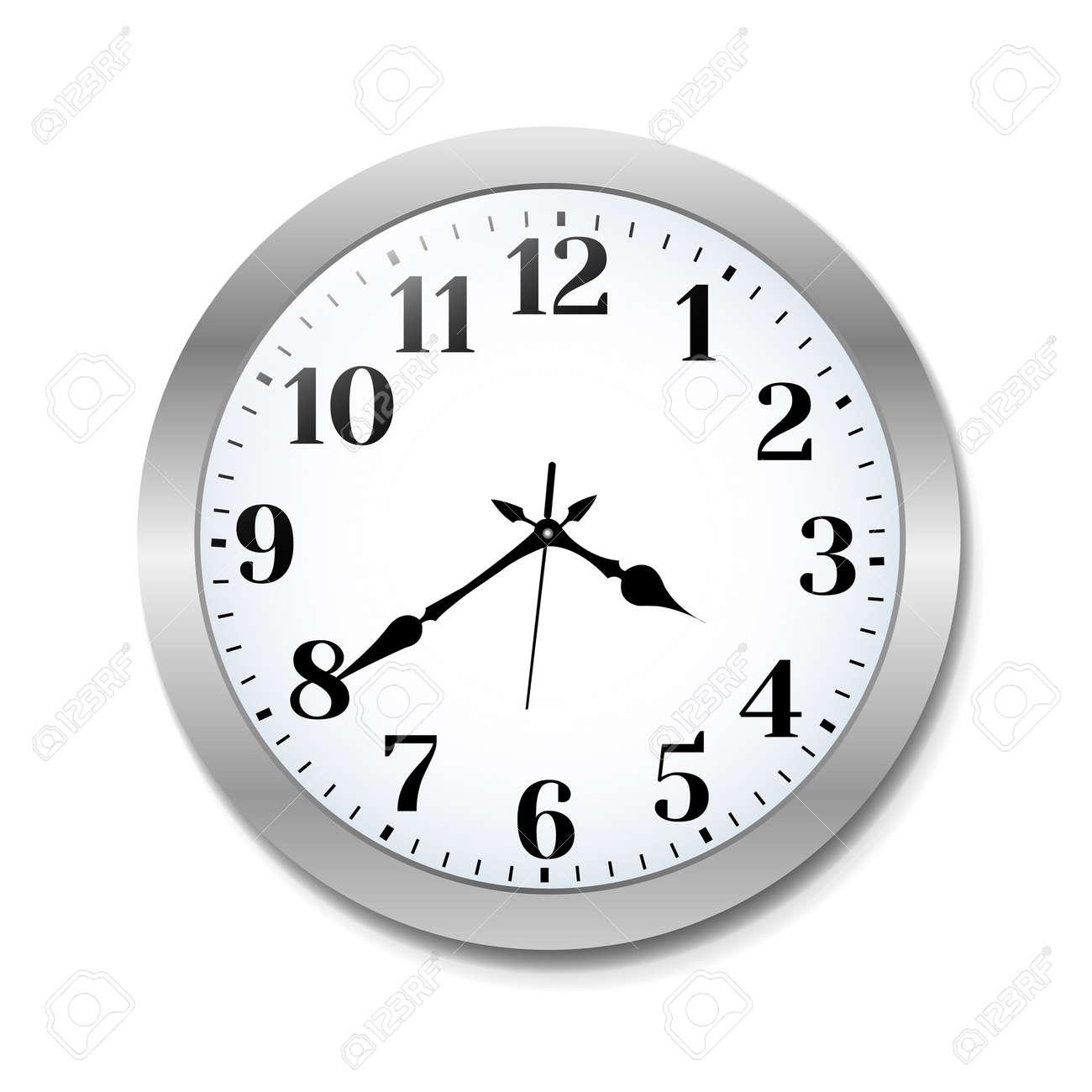 Clock, Vector Illustration - 165094891