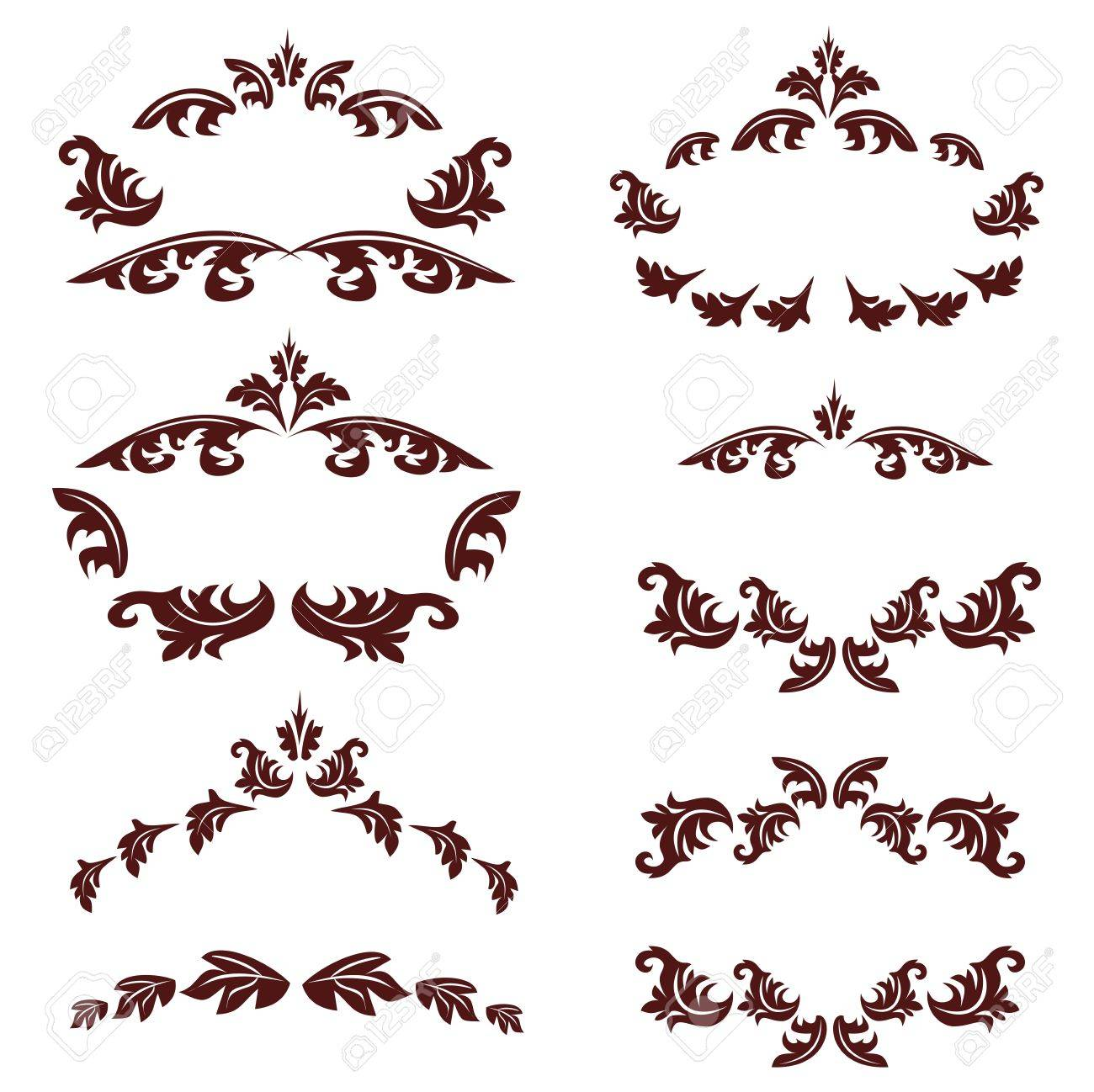 Set of vintages Stock Vector - 13014708