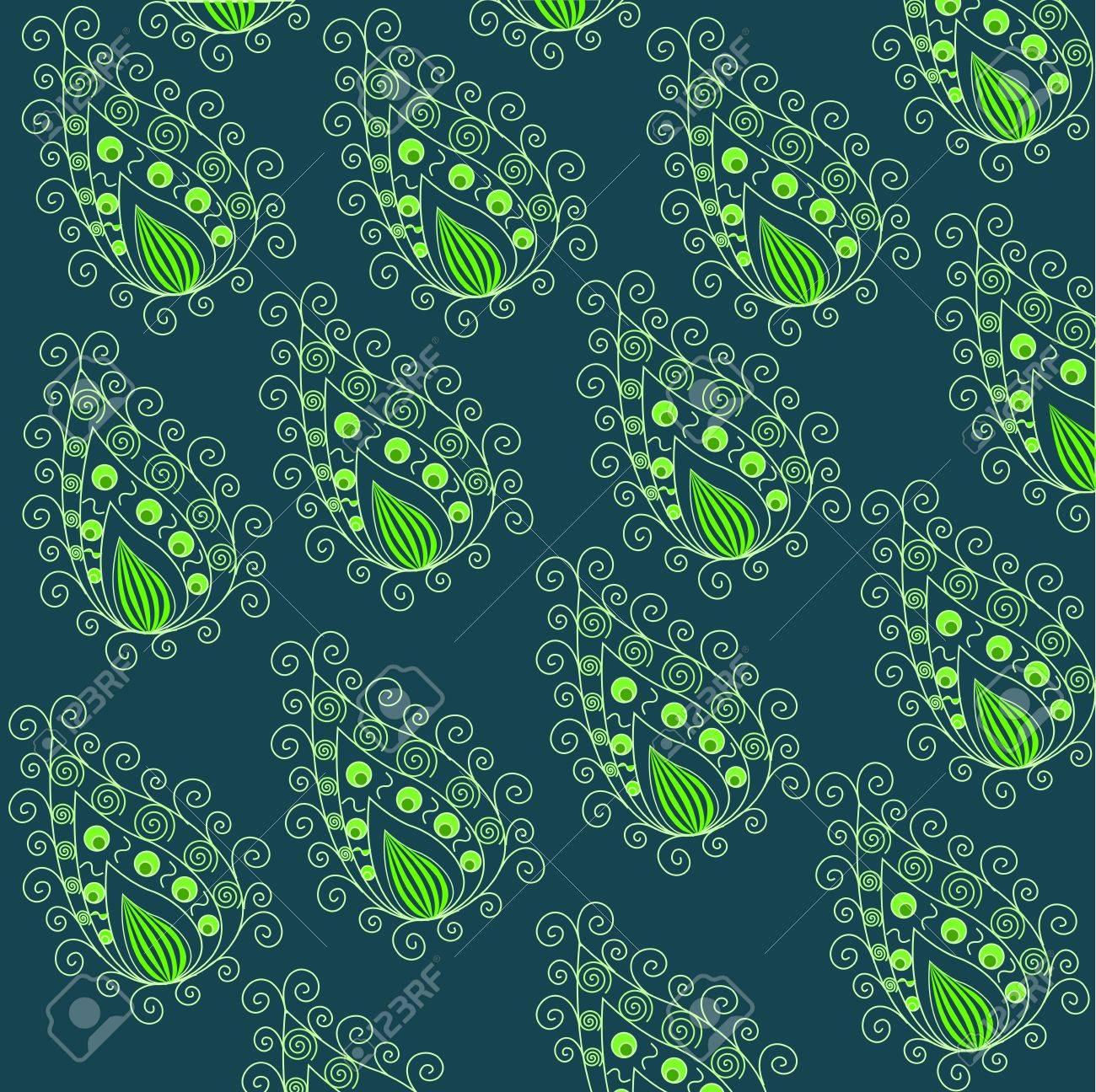 Paisley pattern Stock Vector - 13544525