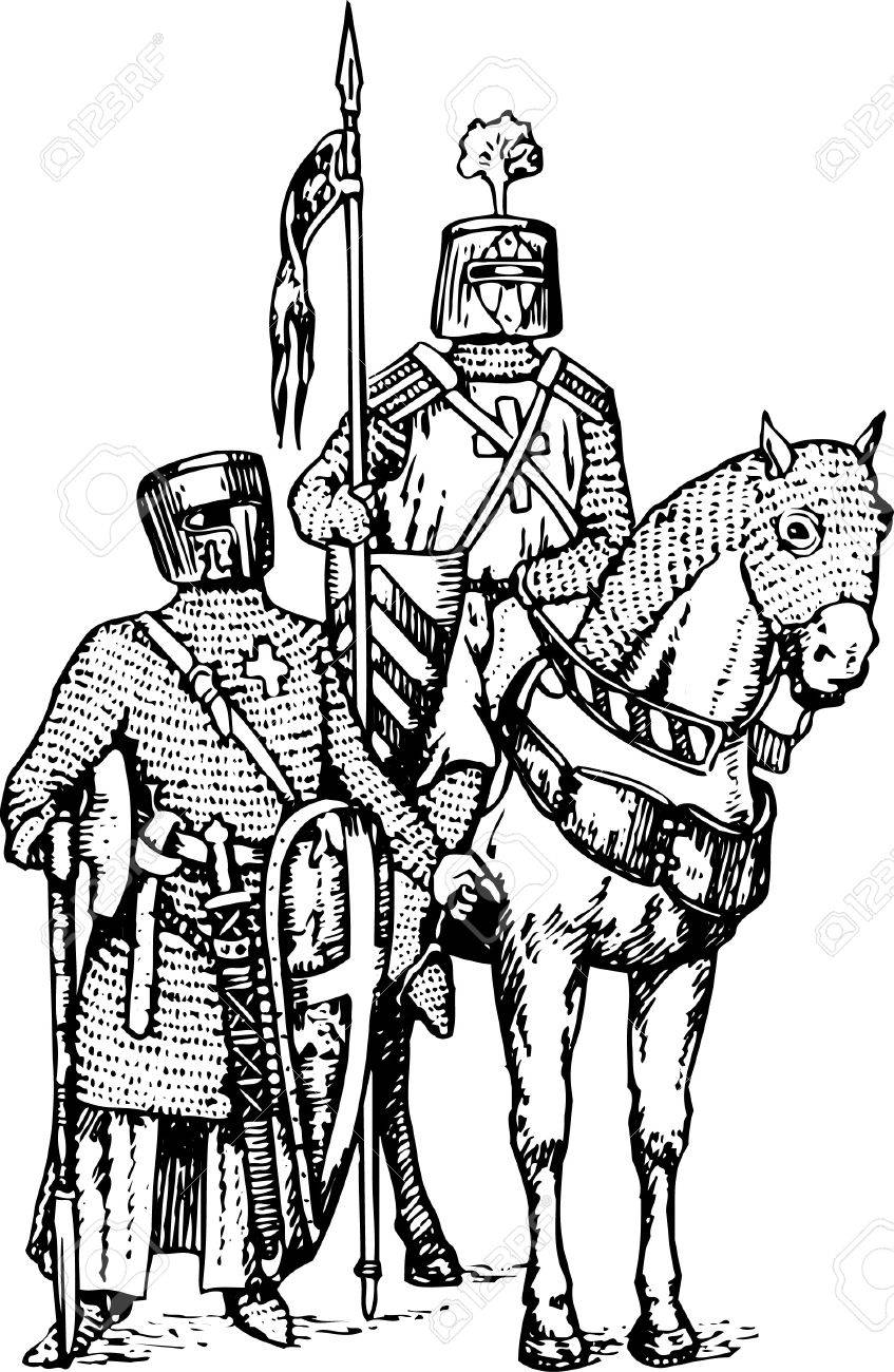 713 medieval suit stock vector illustration and royalty free