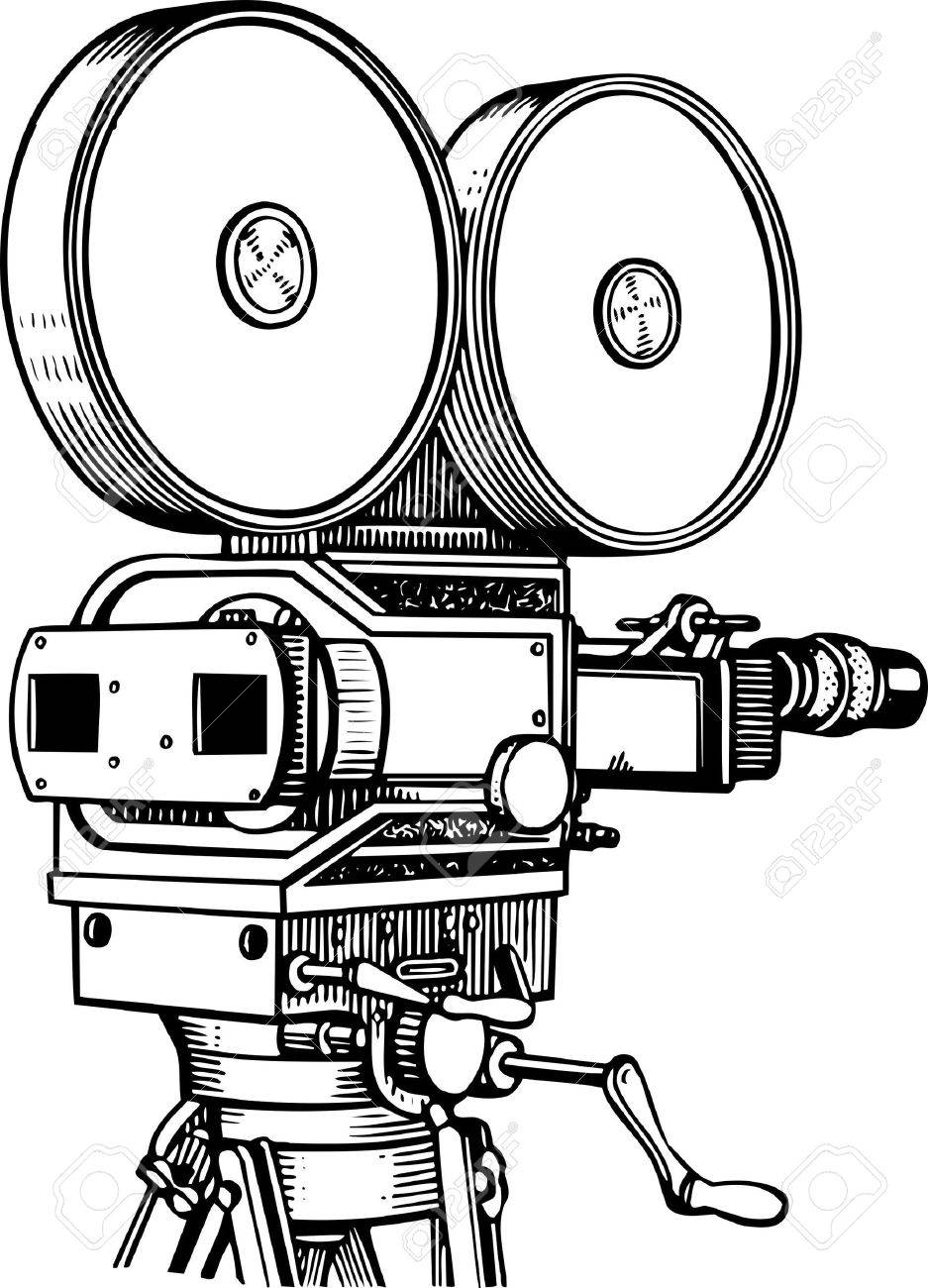 Movie camera Stock Vector - 10402161
