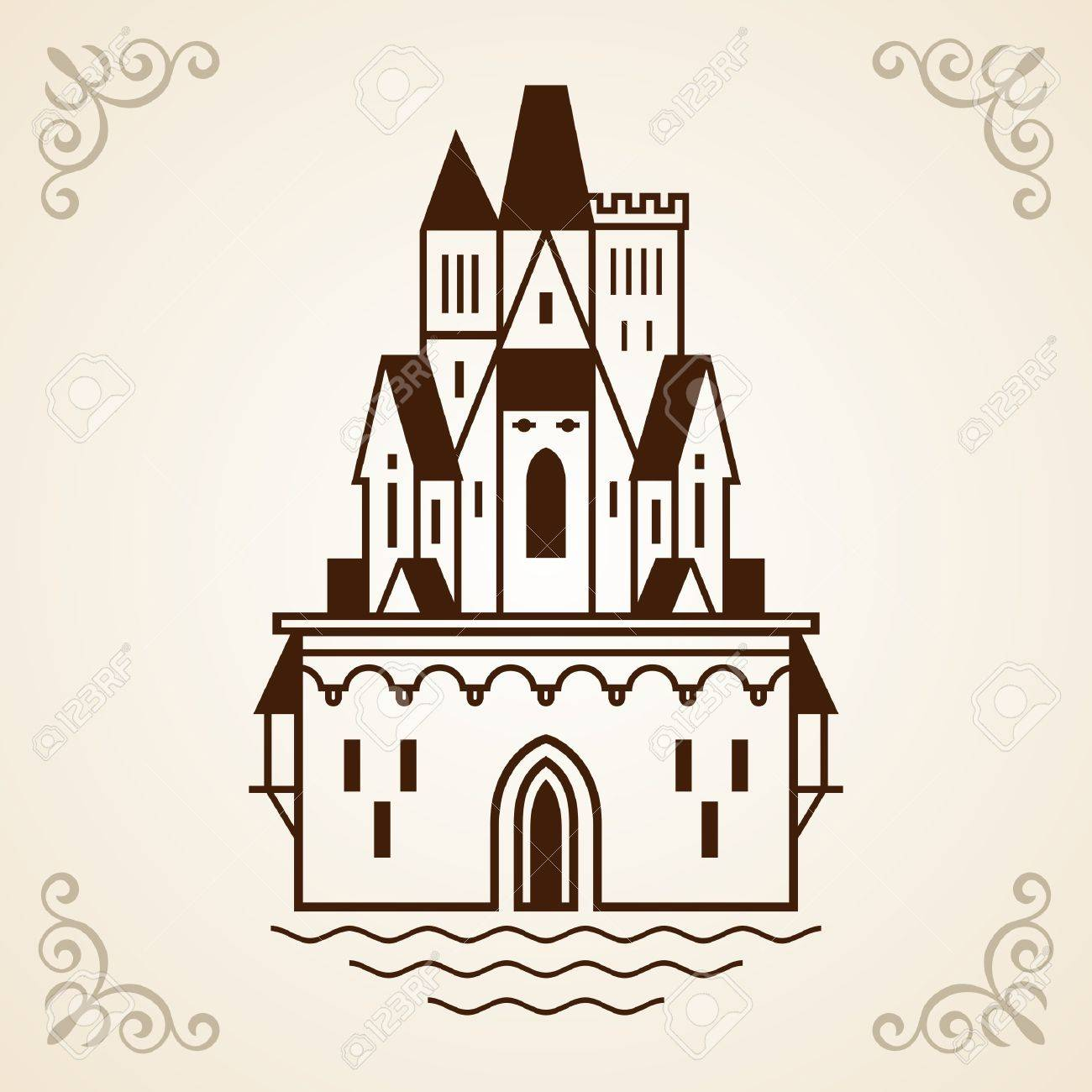Castle frame Stock Vector - 17396763