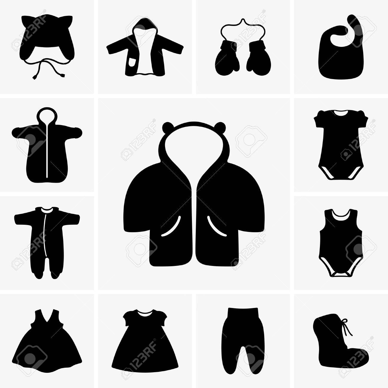 Baby Clothes Royalty Free Cliparts Vectors And Stock Illustration